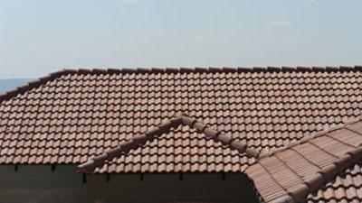 Technicrete Profile Projects Bold Double Roman Roof Tiles