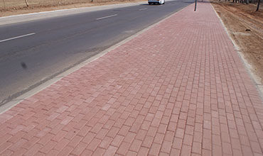 Technicrete Paving and Kerbs for Moletjie Road  Upgrade in Polokwane