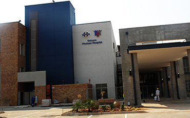 Technicrete's earthform and kerbs installed at new Netcare Pholoso Hospital in Polokwane