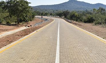 Giyani's Gonono village road upgraded by Technicrete